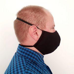 Ninja-style mask side