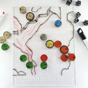 D&D Grid and Tokens