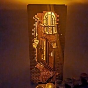 Harry Potter Inspired Book Nook Diagon Alley 2