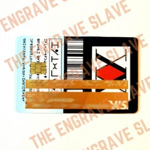 Credit card stickers