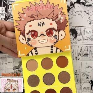 Anime-Makeup-Eyeshadoe-Jujutsu-Kaisen-Sukuna