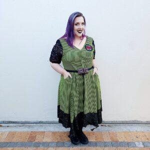 The Nightmare Before Christmas Handkerchief Dress Oogie Boogie