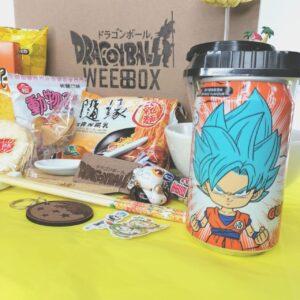WEEBBOX – Food and Merch Buffet Box – Dragon Ball Z 1